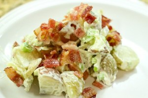 food, potato salad