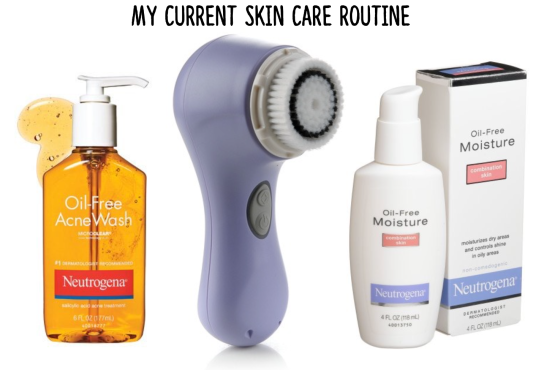 skin, care, face, wash, daily, routine, beauty, makeup,
